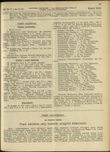 Czasopismo Techniczne : 1925 : nr 17