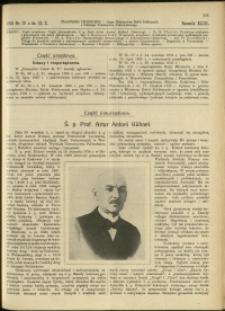 Czasopismo Techniczne : 1925 : nr 19
