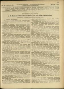 Czasopismo Techniczne : 1925 : nr 21