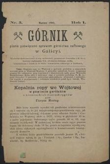 Górnik 1882 : z. 5