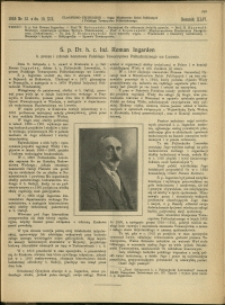 Czasopismo Techniczne : 1926 : nr 23