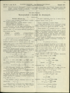 Czasopismo Techniczne : 1927 : nr 7