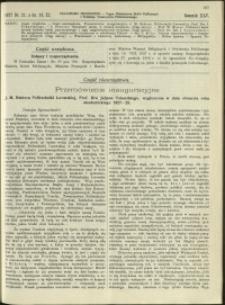 Czasopismo Techniczne : 1927 : nr 21