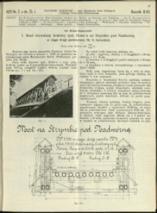 Czasopismo Techniczne : 1929 : nr 2