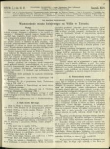 Czasopismo Techniczne : 1929 : nr 7