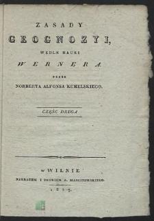 Zasady geognozyi wedle nauki Wernera. Cz. 2