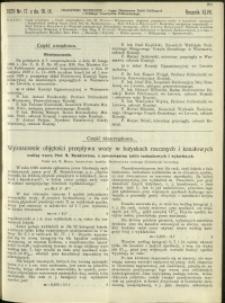 Czasopismo Techniczne : 1929 : nr 17