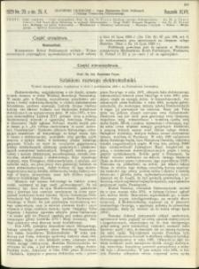 Czasopismo Techniczne : 1929 : nr 20