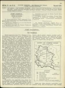 Czasopismo Techniczne : 1929 : nr 21