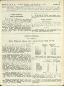 Czasopismo Techniczne : 1929 : nr 23