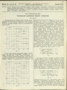 Czasopismo Techniczne : 1929 : nr 24