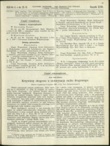 Czasopismo Techniczne : 1930 : nr 6