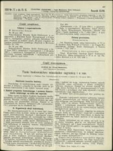 Czasopismo Techniczne : 1930 : nr 17