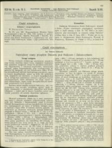 Czasopismo Techniczne : 1930 : nr 19