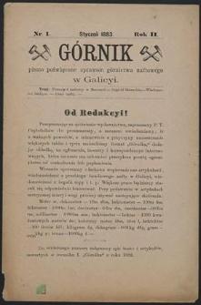 Górnik 1883 : z. 1