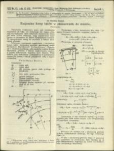 Czasopismo Techniczne : 1932 : nr 15