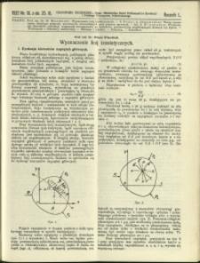 Czasopismo Techniczne : 1932 : nr 18
