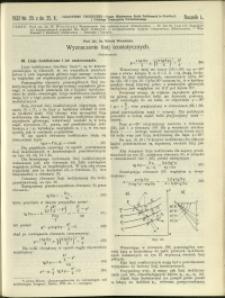 Czasopismo Techniczne : 1932 : nr 20
