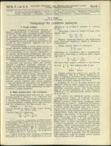 Czasopismo Techniczne : 1932 : nr 21