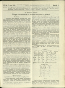 Czasopismo Techniczne : 1933 : nr 17