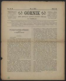 Górnik 1883 : z. 8, 9
