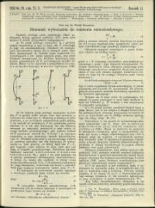 Czasopismo Techniczne : 1933 : nr 20