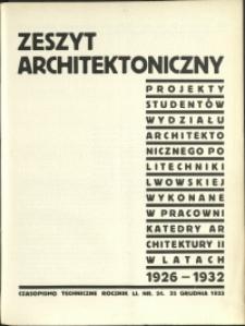 Czasopismo Techniczne : 1933 : nr 24