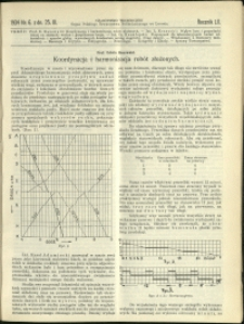 Czasopismo Techniczne : 1934 : nr 6