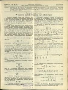 Czasopismo Techniczne : 1934 : nr 8