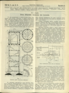 Czasopismo Techniczne : 1934 : nr 11