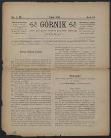 Górnik 1883 : z. 11, 12