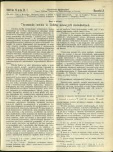 Czasopismo Techniczne : 1934 : nr 19