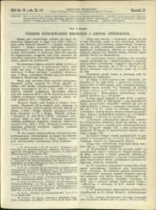 Czasopismo Techniczne : 1934 : nr 24