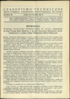 Czasopismo Techniczne : 1935 : nr 2