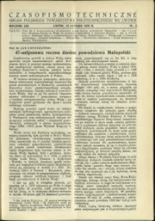Czasopismo Techniczne : 1935 : nr 3