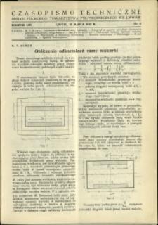 Czasopismo Techniczne : 1935 : nr 6