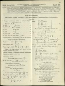 Czasopismo Techniczne : 1931 : nr 5