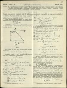 Czasopismo Techniczne : 1931 : nr 11