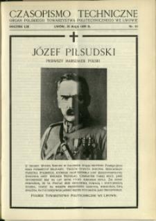 Czasopismo Techniczne : 1935 : nr 10