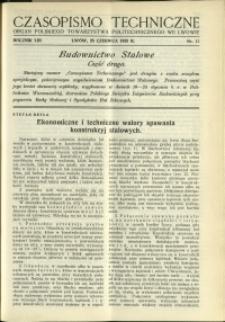 Czasopismo Techniczne : 1935 : nr 12