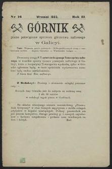 Górnik 1883 : z. 16