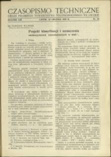 Czasopismo Techniczne : 1935 : nr 24