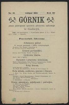 Górnik 1883 : z. 21