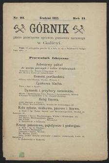 Górnik 1883 : z. 22
