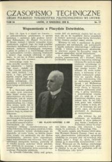 Czasopismo Techniczne : 1936 : nr 17