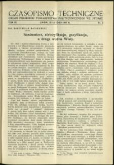 Czasopismo Techniczne : 1937 : nr 4