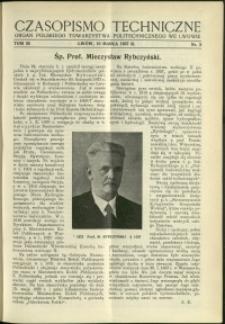 Czasopismo Techniczne : 1937 : nr 5