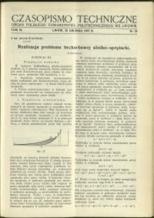 Czasopismo Techniczne : 1937 : nr 24