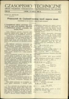 Czasopismo Techniczne : 1938 : nr 5