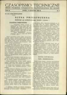 Czasopismo Techniczne : 1938 : nr 7